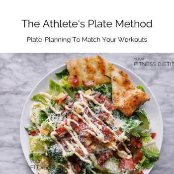Athlets Plate Method Cover