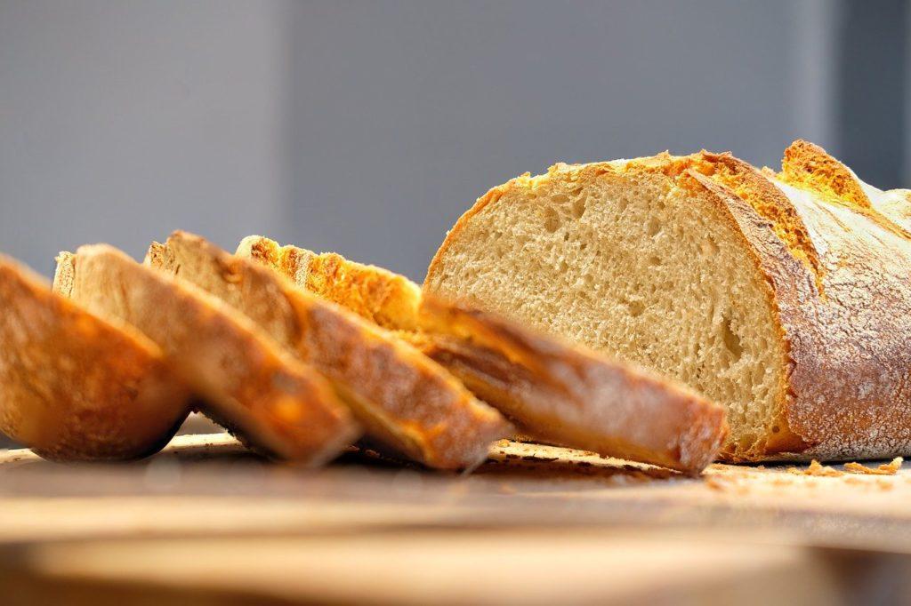 bread, baked goods, crispy